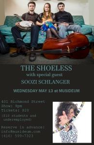 Shoeless poster